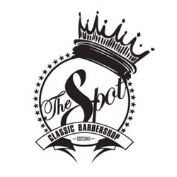 the spot barbershop miami logo