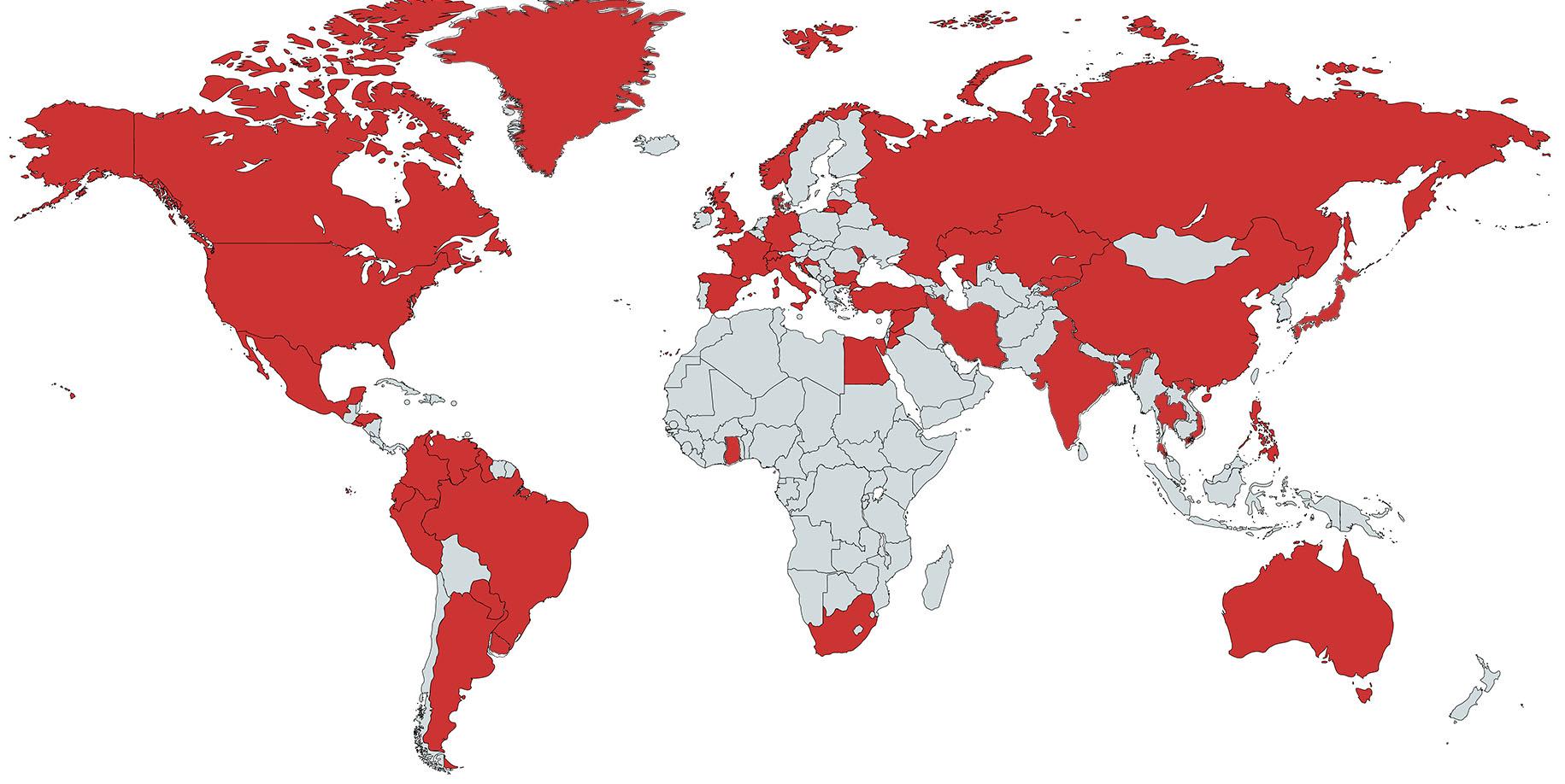 Visa E2 – Pays éligibles pour le traité investisseurs