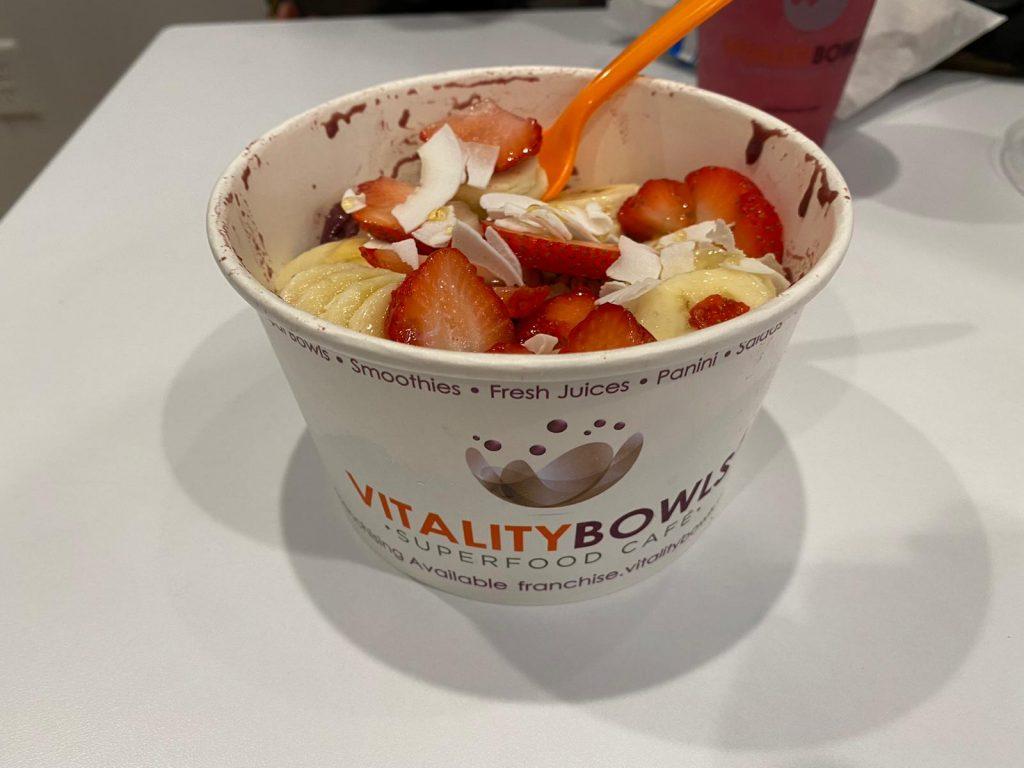 Vitality Bowls dessert