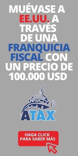 Muévase EE.UU. a través de Franquicia Fiscal precio 100.000 USD ATAX