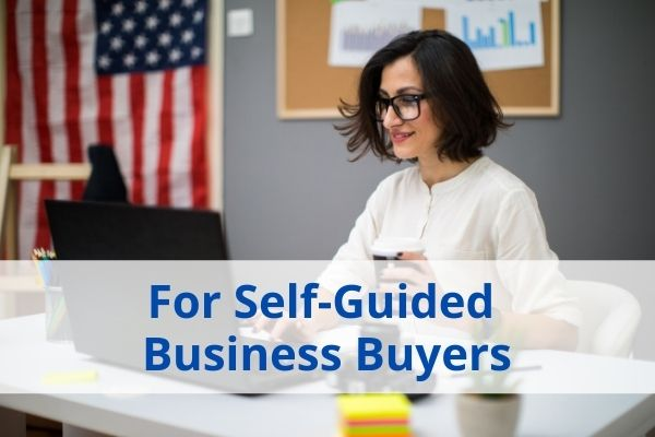 self guided business buyers